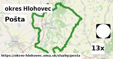 ilustračný obrázok k Pošta, okres Hlohovec