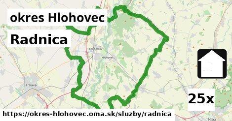 ilustračný obrázok k Radnica, okres Hlohovec