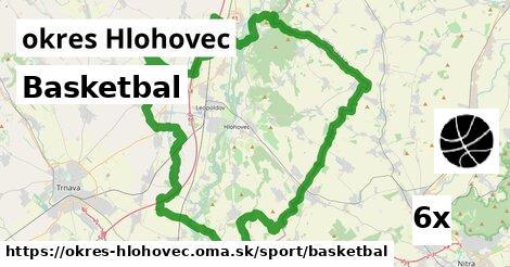 ilustračný obrázok k Basketbal, okres Hlohovec