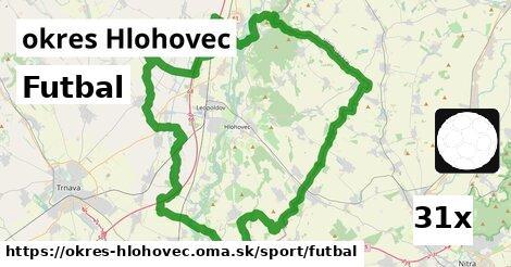 ilustračný obrázok k Futbal, okres Hlohovec