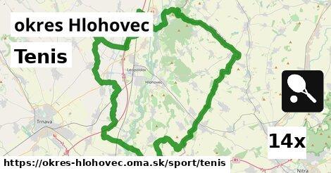 ilustračný obrázok k Tenis, okres Hlohovec