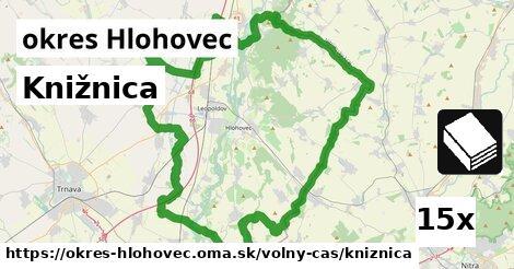 ilustračný obrázok k Knižnica, okres Hlohovec