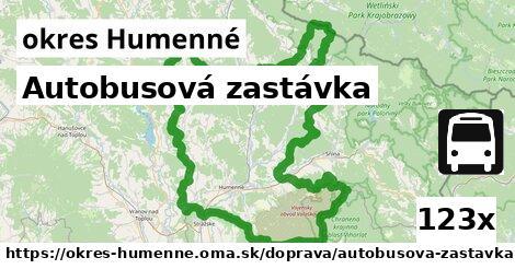 ilustračný obrázok k Autobusová zastávka, okres Humenné