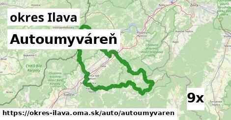 ilustračný obrázok k Autoumyváreň, okres Ilava