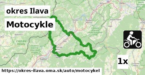 ilustračný obrázok k Motocykle, okres Ilava