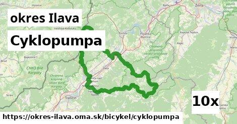 ilustračný obrázok k Cyklopumpa, okres Ilava