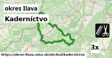 ilustračný obrázok k Kaderníctvo, okres Ilava
