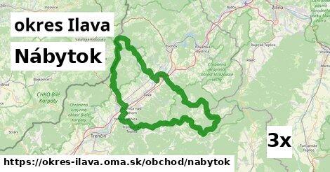 ilustračný obrázok k Nábytok, okres Ilava