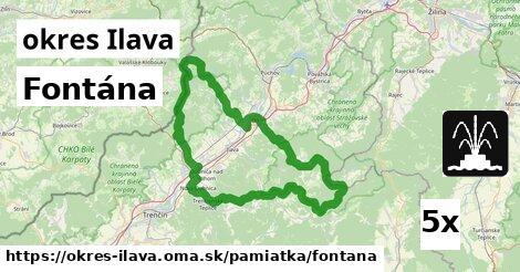 ilustračný obrázok k Fontána, okres Ilava
