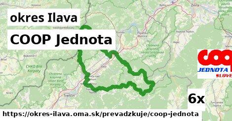 ilustračný obrázok k COOP Jednota, okres Ilava
