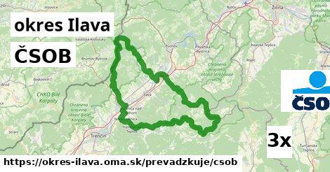 ilustračný obrázok k ČSOB, okres Ilava