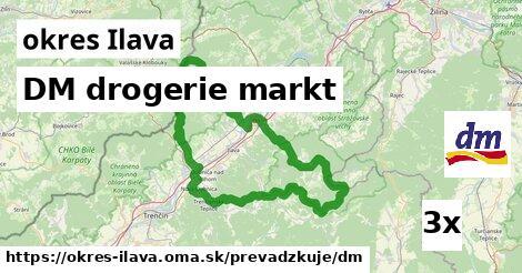 ilustračný obrázok k DM drogerie markt, okres Ilava