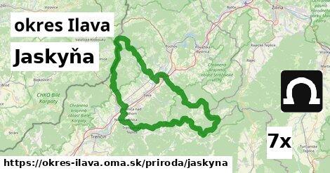 ilustračný obrázok k Jaskyňa, okres Ilava