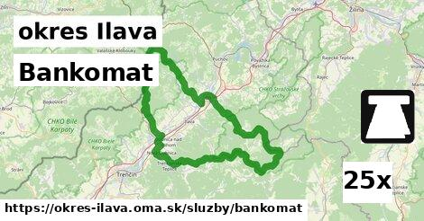 ilustračný obrázok k Bankomat, okres Ilava