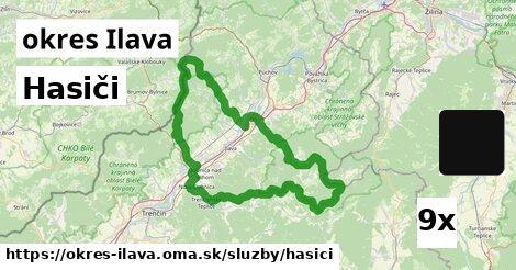 ilustračný obrázok k Hasiči, okres Ilava