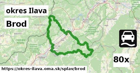 ilustračný obrázok k Brod, okres Ilava
