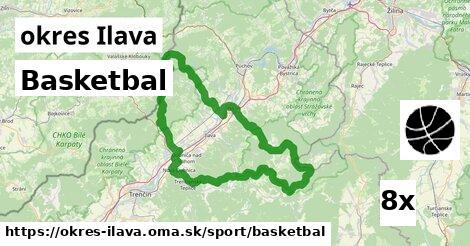 ilustračný obrázok k Basketbal, okres Ilava