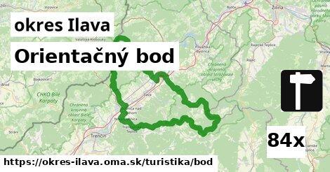 ilustračný obrázok k Orientačný bod, okres Ilava