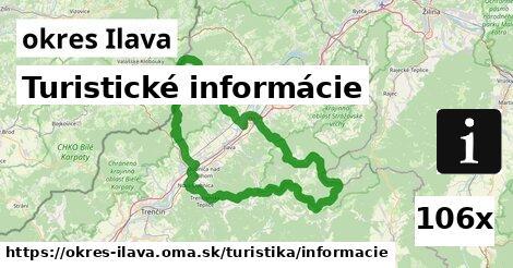ilustračný obrázok k Turistické informácie, okres Ilava