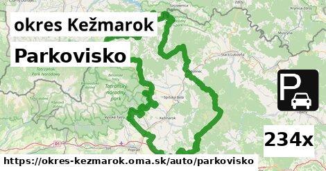 ilustračný obrázok k Parkovisko, okres Kežmarok