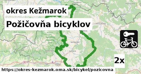 ilustračný obrázok k Požičovňa bicyklov, okres Kežmarok