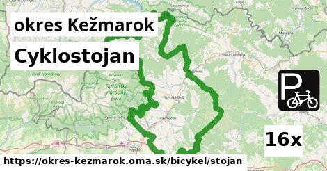 ilustračný obrázok k Cyklostojan, okres Kežmarok