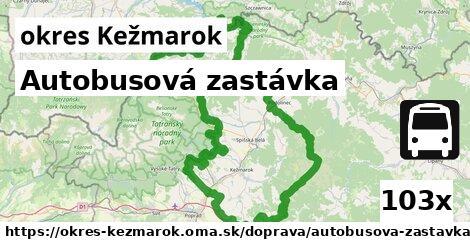 ilustračný obrázok k Autobusová zastávka, okres Kežmarok