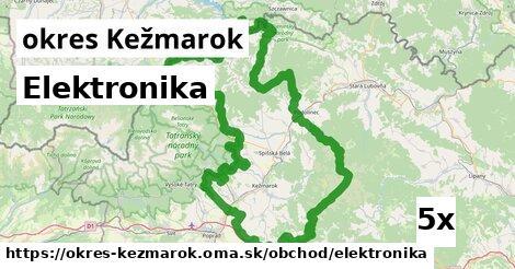 ilustračný obrázok k Elektronika, okres Kežmarok