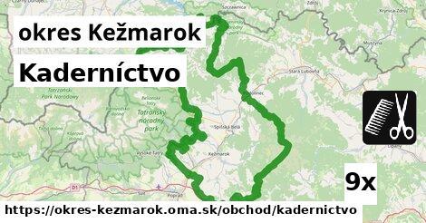 ilustračný obrázok k Kaderníctvo, okres Kežmarok