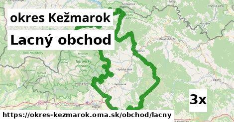 ilustračný obrázok k Lacný obchod, okres Kežmarok