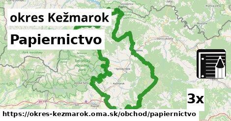 ilustračný obrázok k Papiernictvo, okres Kežmarok