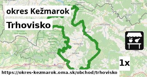 ilustračný obrázok k Trhovisko, okres Kežmarok