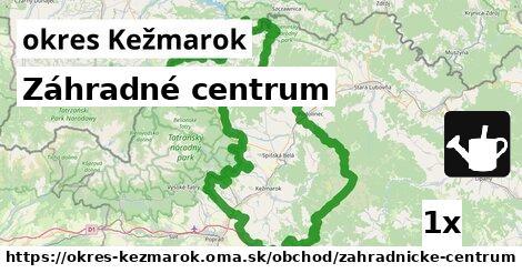 ilustračný obrázok k Záhradné centrum, okres Kežmarok
