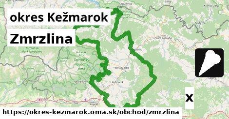 ilustračný obrázok k Zmrzlina, okres Kežmarok
