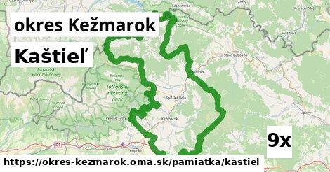 ilustračný obrázok k Kaštieľ, okres Kežmarok