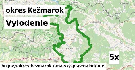 vylodenie v okres Kežmarok
