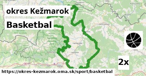 ilustračný obrázok k Basketbal, okres Kežmarok