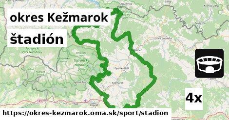 ilustračný obrázok k štadión, okres Kežmarok
