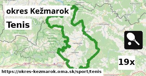 ilustračný obrázok k Tenis, okres Kežmarok