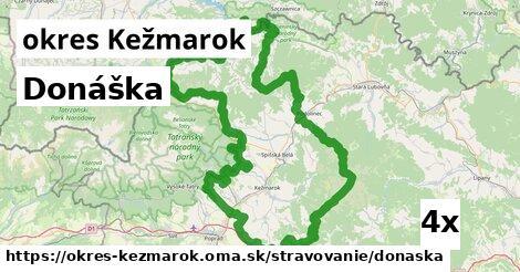 ilustračný obrázok k Donáška, okres Kežmarok