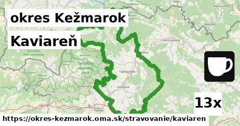ilustračný obrázok k Kaviareň, okres Kežmarok