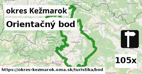 ilustračný obrázok k Orientačný bod, okres Kežmarok