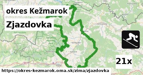 ilustračný obrázok k Zjazdovka, okres Kežmarok