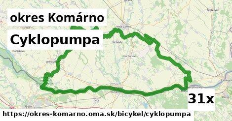 cyklopumpa v okres Komárno