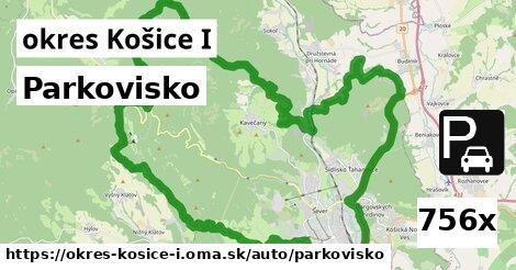 parkovisko v okres Košice I