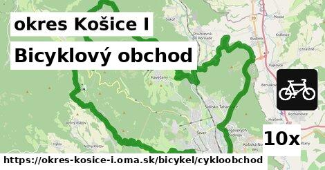 ilustračný obrázok k Bicyklový obchod, okres Košice I