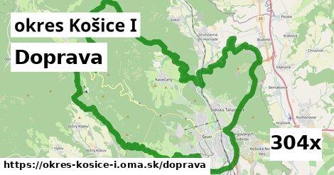 doprava v okres Košice I
