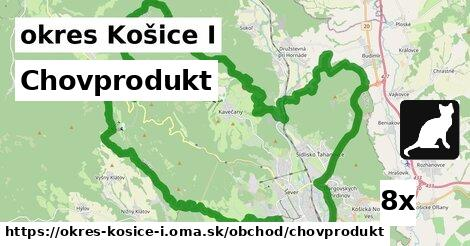 chovprodukt v okres Košice I