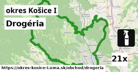 drogéria v okres Košice I