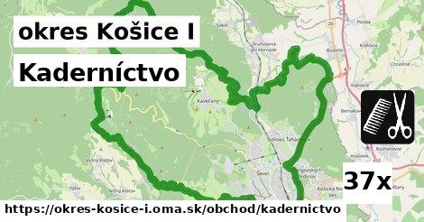 ilustračný obrázok k Kaderníctvo, okres Košice I